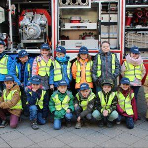 Rheinauer Löschlöwen bei Feuerwehrmann Sam