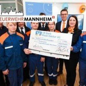 VR Bank Rhein-Neckar spendet 2500 €